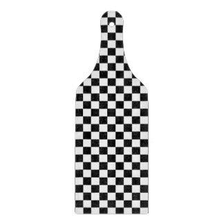 Klassisches Schwarzweiss-Schachbrett durch STaylor Schneidebrett