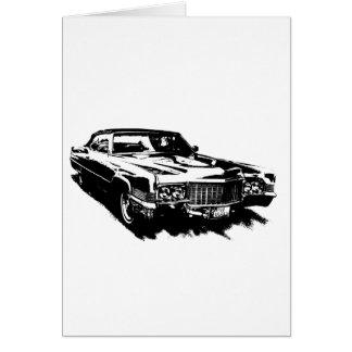 klassisches seltenes Cadillac-Reihe deville Karte