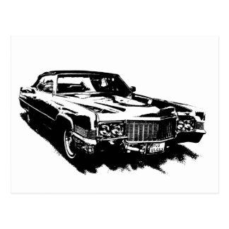 klassisches seltenes Cadillac-Reihe deville Postkarte