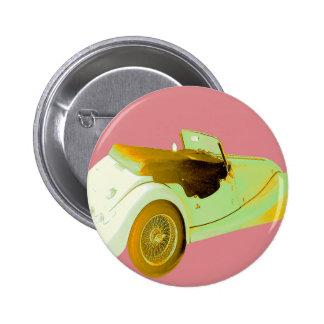 Klassisches Sport-Auto Runder Button 5,1 Cm