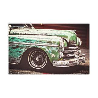 Klassisches Vintages Auto Leinwanddruck