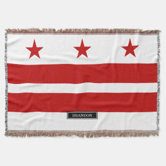 Klassisches Washington D.C. Flag Decke