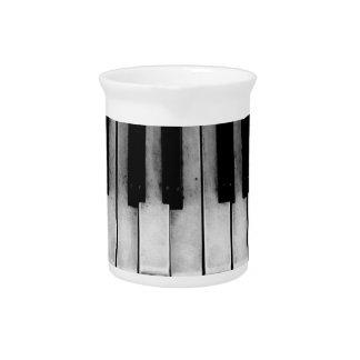 Klavier-alte Flügels-Tastatur-Instrument-Musik Krug
