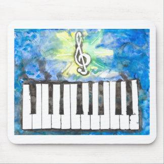 Klavier-Aquarell Mousepads