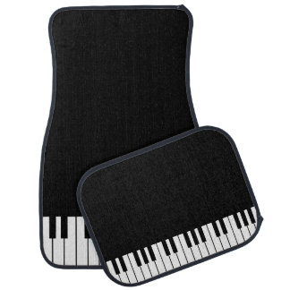 Klavier befestigt Auto-Boden-Matten-Set Autofußmatte