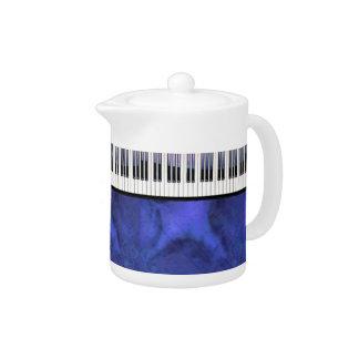 Klavier befestigt Blatt-Musik-moderne Drehung
