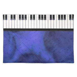 Klavier befestigt Blatt-Musik-moderne Drehung Tischset