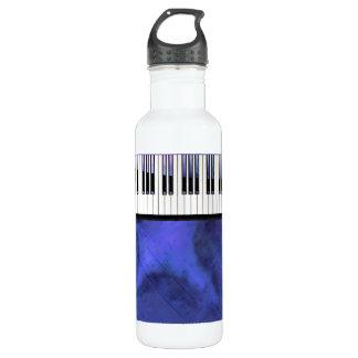 Klavier befestigt Blatt-Musik-moderne Drehung Trinkflasche