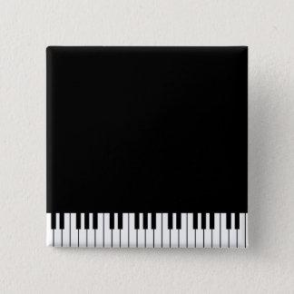 Klavier befestigt Knopf Quadratischer Button 5,1 Cm