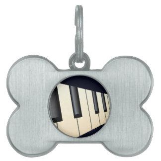 Klavier befestigt Perspektive Tiermarke