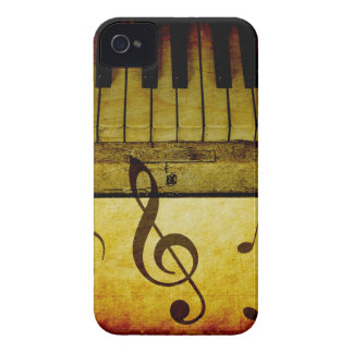 Klavier befestigt Vintages iPhone 4 Hüllen