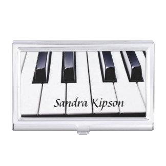 Klavier befestigt Visitenkarte-Halter Visitenkarten Dose