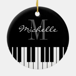 Klavier befestigt Weihnachtsbaumverzierung für Keramik Ornament