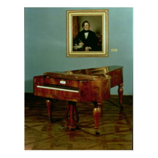 Klavier, das Franz Peter Schubert gehört Postkarte