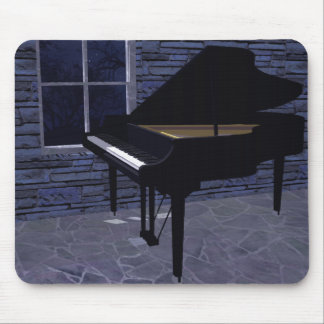 Klavier durch das Fenster: Kundenspezifisches Mousepads