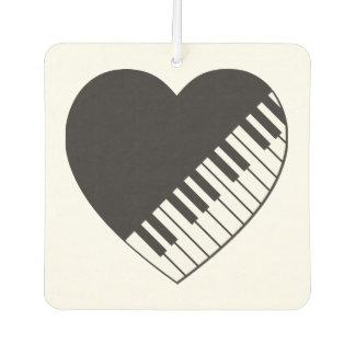 Klavier-Herz-Auto-Lufterfrischer Autolufterfrischer