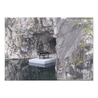 Klavier in der Marmorschlucht (Ruskeala Karte