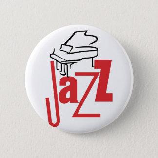 Klavier-Jazz Runder Button 5,1 Cm