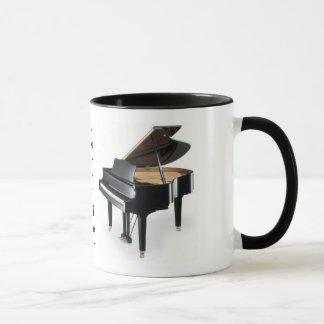 Klavier-Kaffee-Tasse Tasse