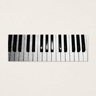 Klavier-Lehrer Mini Visitenkarte