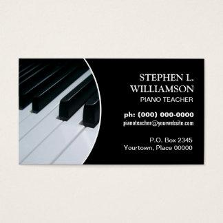 Klavier-Lehrer-Rahmen Visitenkarte