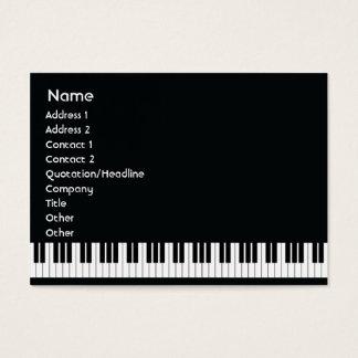 Klavier - mollig visitenkarte