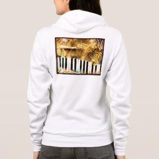 Klavier-Musik Hoodie