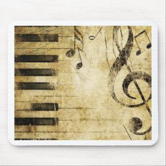 Klavier-Musiknoten Mousepads