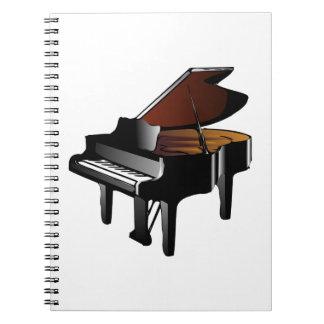 Klavier Notizblock