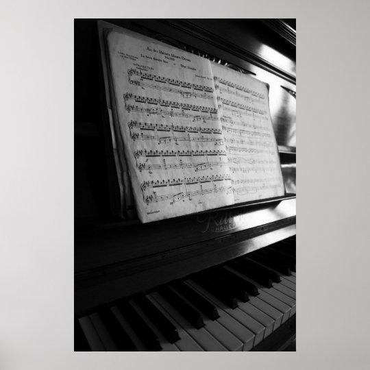 Klavier Poster
