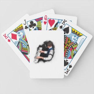 Klavier-Sänger Bicycle Spielkarten
