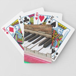 Klavier-Schlüssel 2 Bicycle Spielkarten