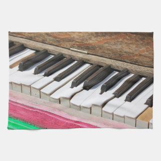Klavier-Schlüssel 2 Handtuch
