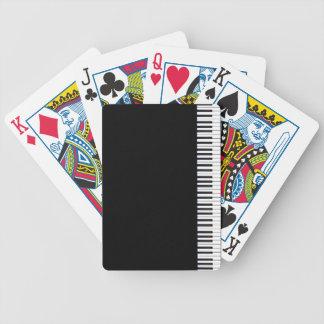 Klavier-Schlüssel Bicycle Spielkarten