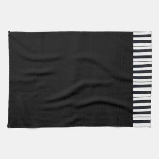 Klavier-Schlüssel Handtuch