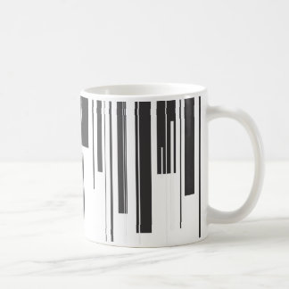 Klavier-Schlüssel Kaffeetasse