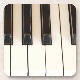 Klavier-Schlüssel Getränke Untersetzer
