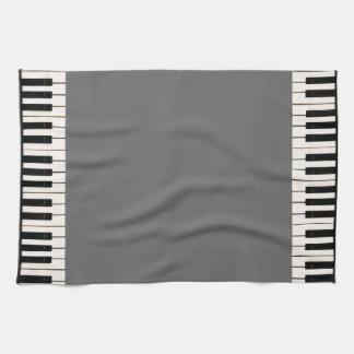 Klavier-Schlüssel Küchentuch