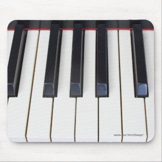 Klavier-Schlüssel Mousepad