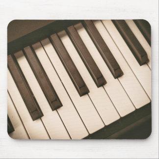Klavier-Schlüssel Mousepads