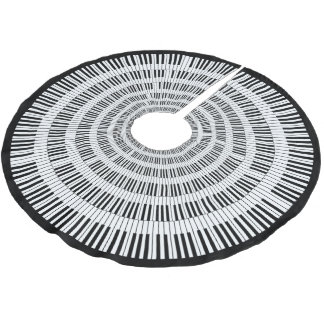 Klavier-Schlüssel Polyester Weihnachtsbaumdecke