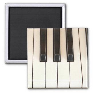 Klavier-Schlüssel Quadratischer Magnet