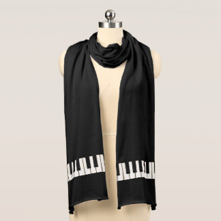 Klavier-Schlüssel Schal