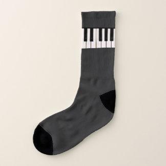 Klavier-Schlüssel Socken