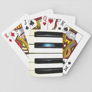 Klavier-Schlüssel-Spielkarten Spielkarten