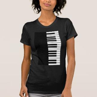 Klavier-Schlüssel T-Shirt