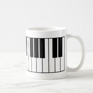 Klavier-Schlüssel Teetassen