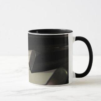 Klavier-Schlüsselkaffee-Tasse Tasse