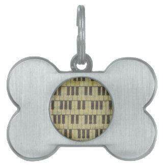 Klavier-Schlüsselmusik-Anmerkung Tiermarke