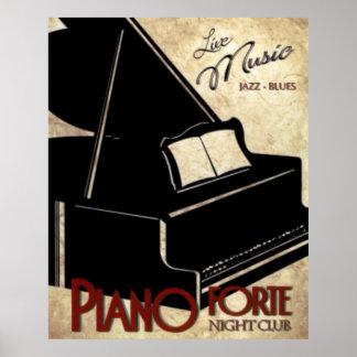 Klavier-Stärke Poster